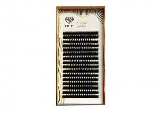 Ресницы Lovely Royal Lashes, микс